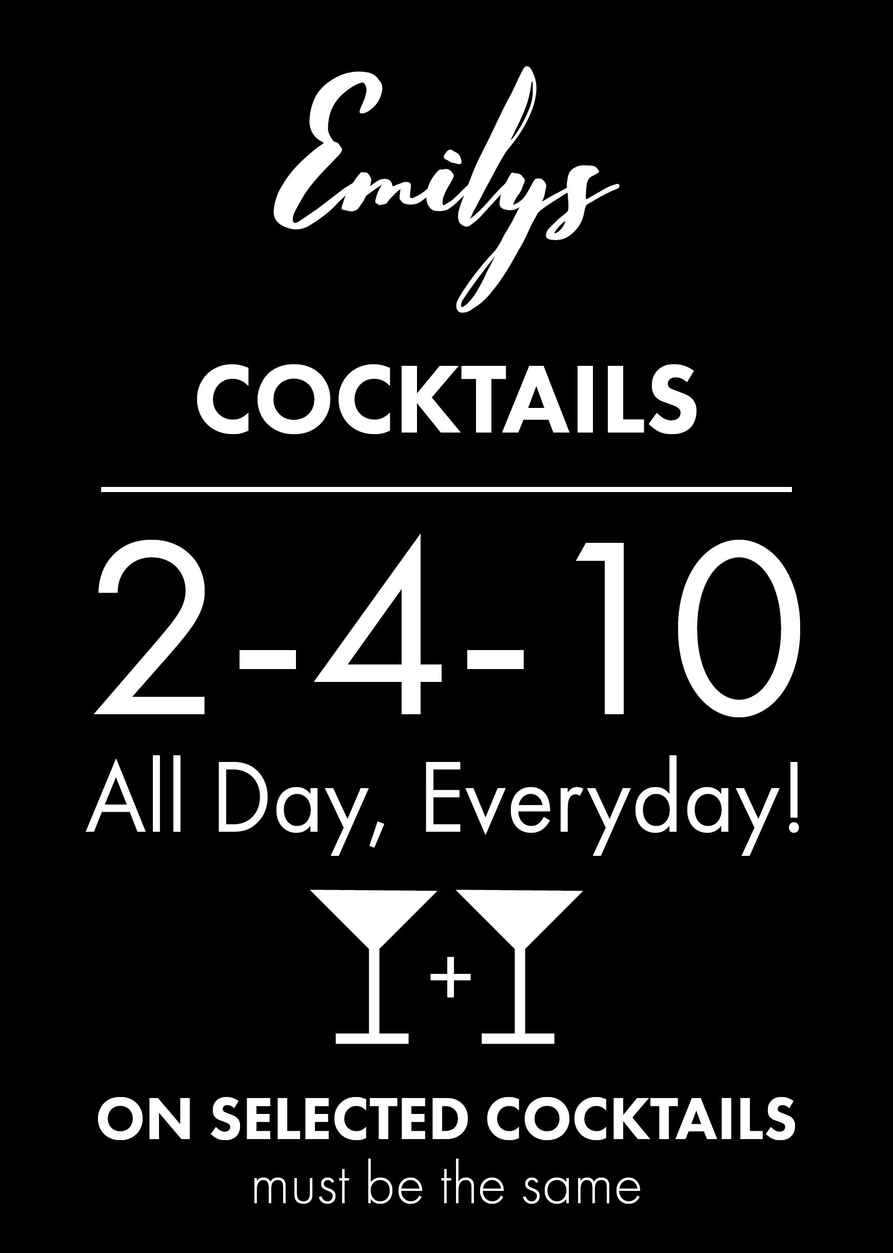 Cocktails 2-4-10